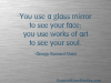 you-use-a-glass-mirror