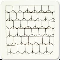 Zentangle Untangle Honeycomb Step 3