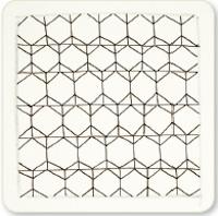 Zentangle Honeycomb step 4
