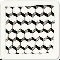 Zentangle Honeycomb Step 5