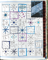 Winter themed grid_160