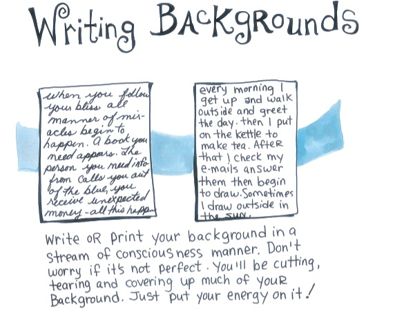 Writing backgrounds